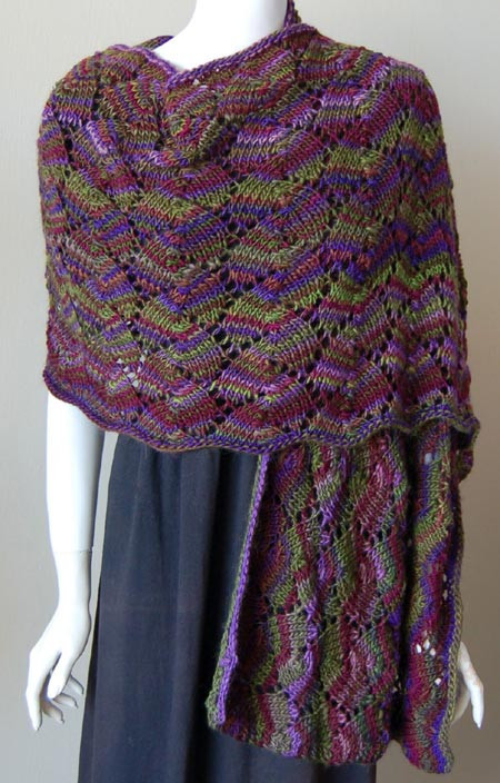 free patterns lace projects to knit