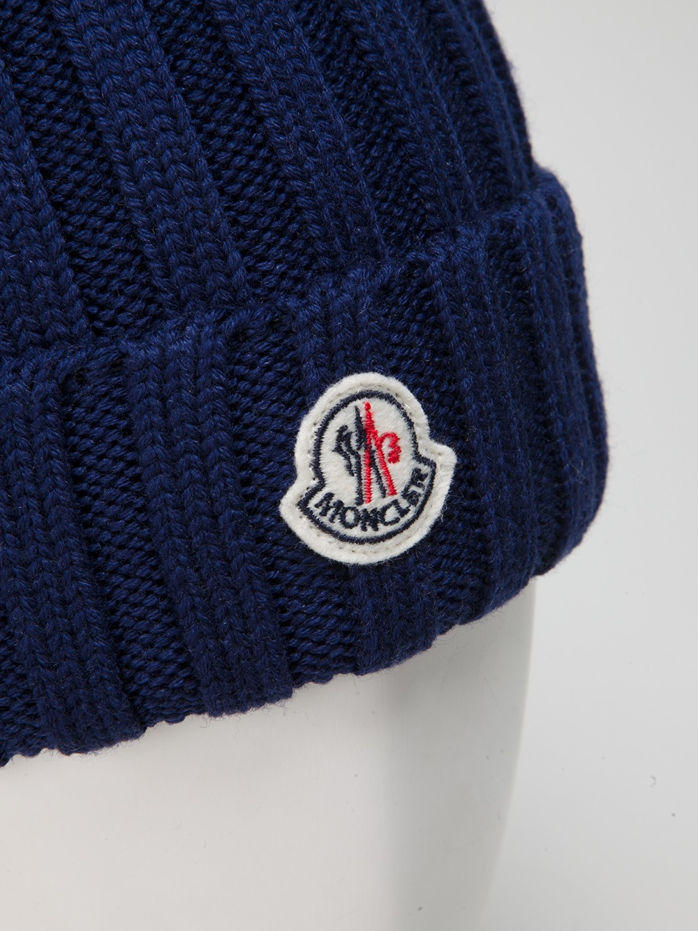 Unique Moncler Wool Ribbed Knit Beanie Hat In Blue for Men Ribbed Hat Of Amazing 42 Pictures Ribbed Hat