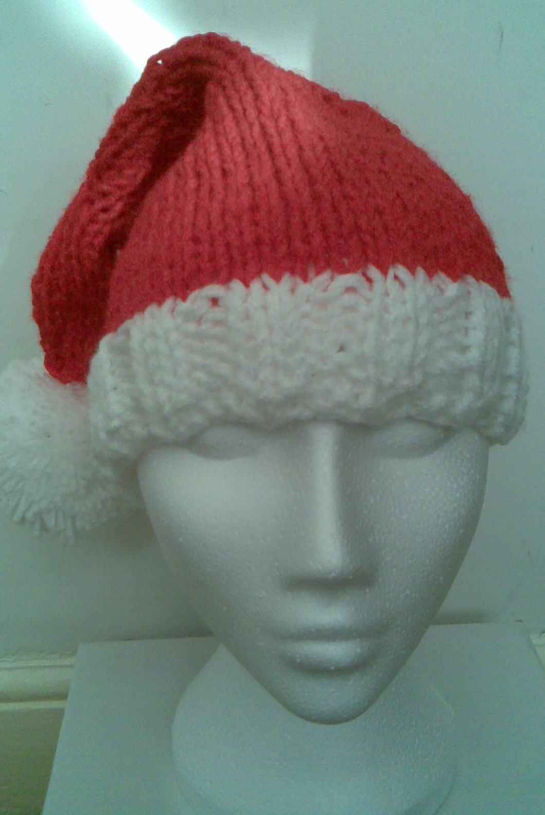 Unique Musings Of A Knit A Holic From Wales Knitting Pattern Santa Hat Pattern Of Awesome This Chunky Knit Santa Hat Will Be the Coziest Thing You Santa Hat Pattern