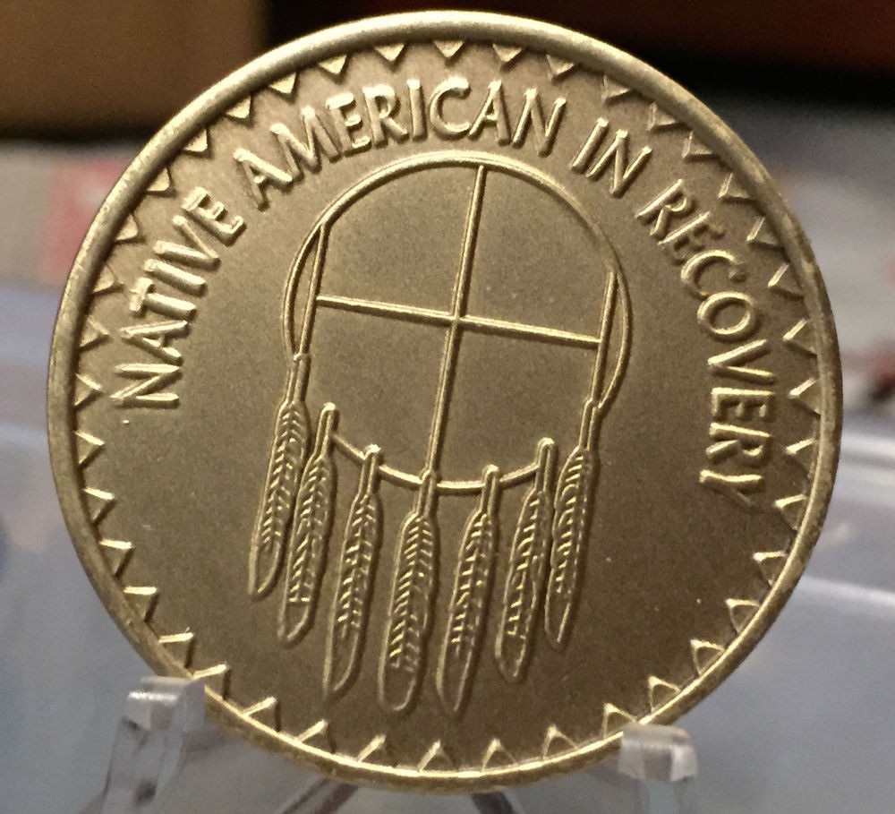 Unique Native American In Recovery Medallion Coin Bronze Chip Native American Nickel Of Attractive 40 Images Native American Nickel