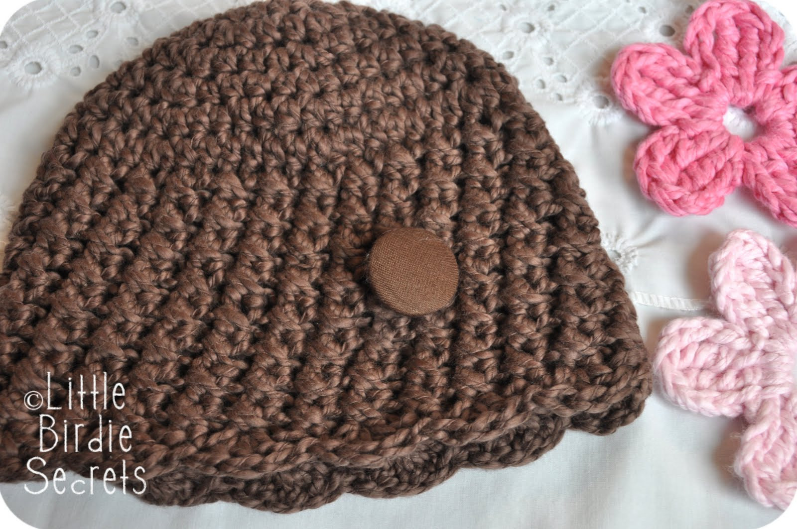 Unique New Baby Hat and Bootie Patterns In the Shop Plus A Free Crochet Flowers for Hats Free Patterns Of Luxury 25 Best Ideas About Crochet Hats On Pinterest Crochet Flowers for Hats Free Patterns