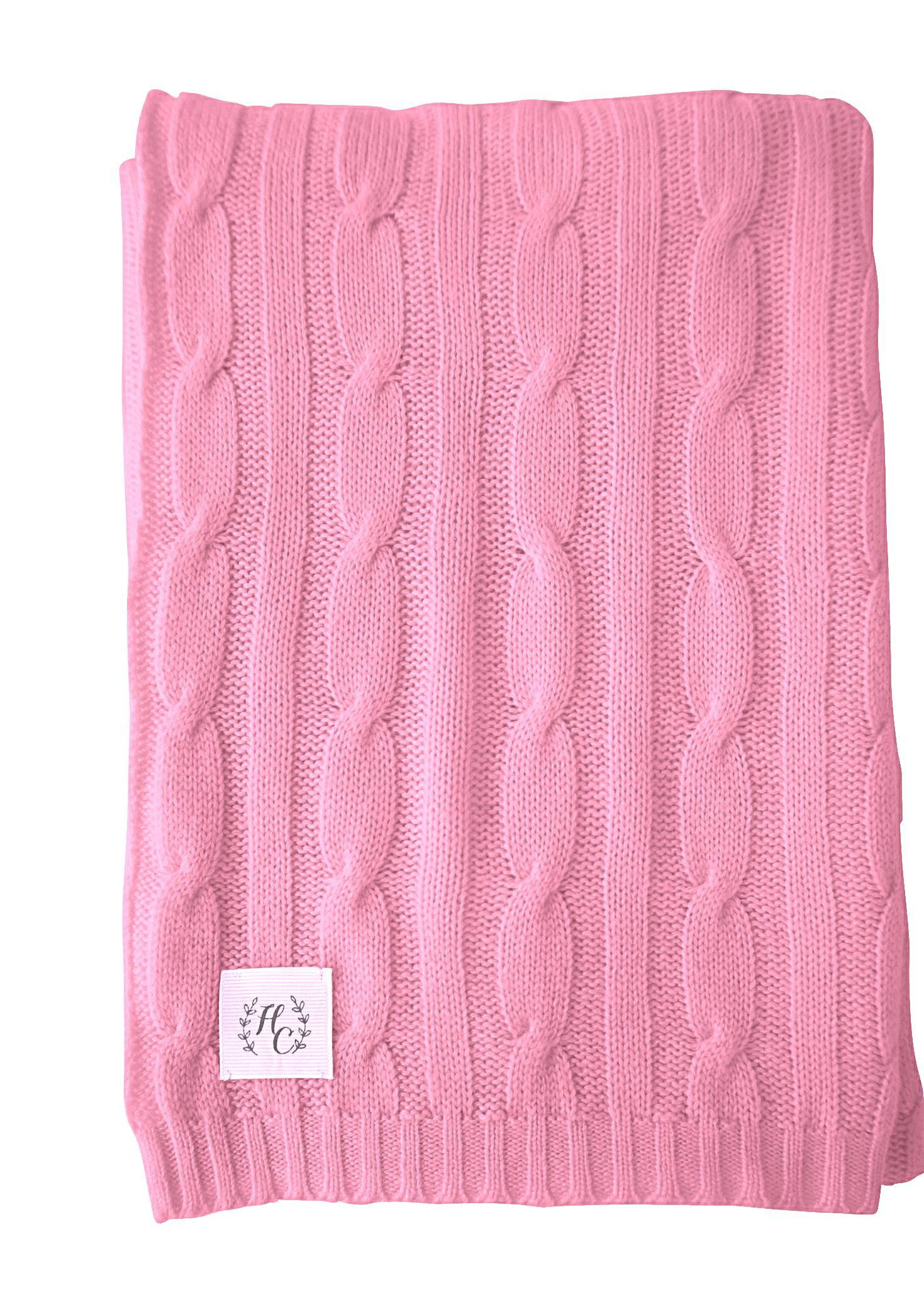 Unique New Cashmere Cable Knit Baby Blanket In Strawberry Girl S Cable Knit Baby Blanket Of Amazing 41 Photos Cable Knit Baby Blanket