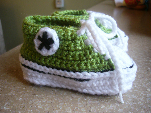 Unique Nike Inspired Baby Sneakers Crochet Pattern Crochet Converse Booties Of Innovative 41 Models Crochet Converse Booties