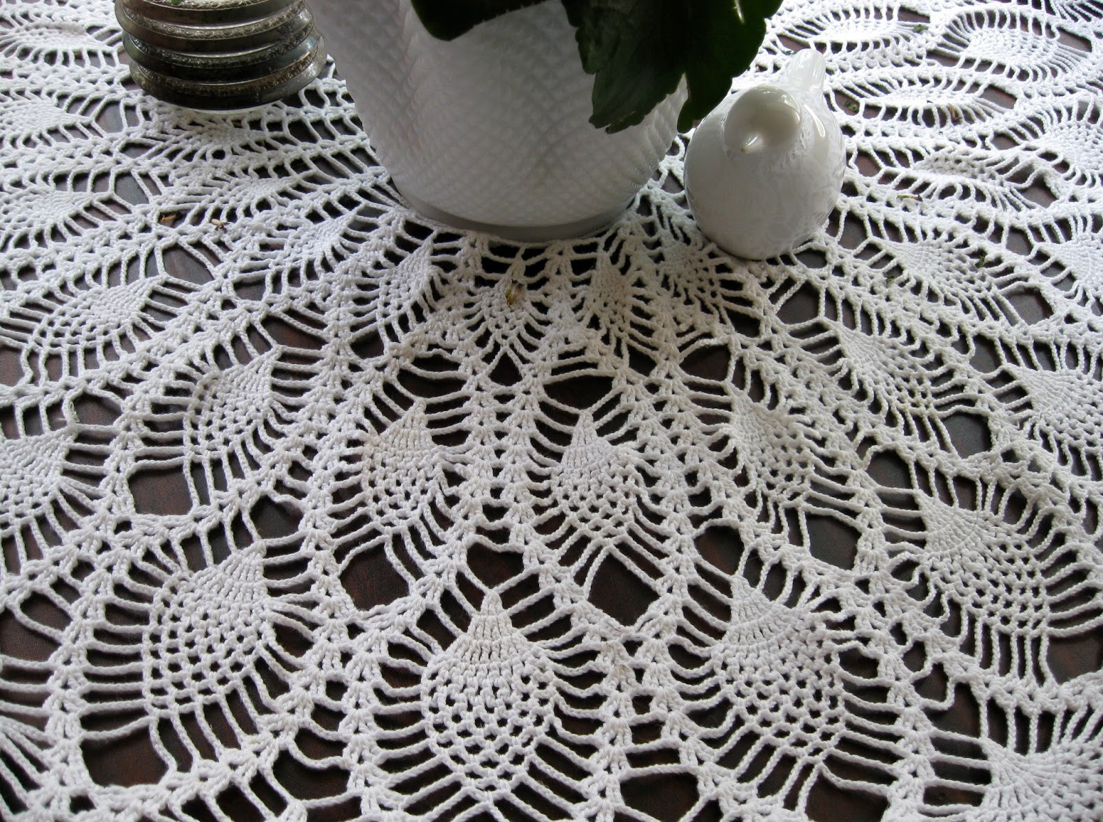 Unique Oliva S Creative Quest Crochet Pineapple Round Tablecloth Round Crochet Pattern Of Unique 50 Models Round Crochet Pattern