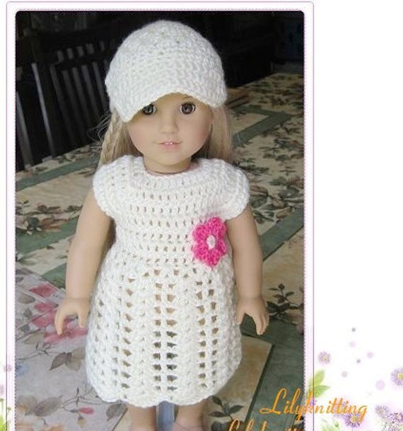 Unique Pattern Crocheted Doll Clothes Dress for American Girl Gotz Free Crochet Patterns for American Girl Dolls Clothes Of Adorable 50 Pictures Free Crochet Patterns for American Girl Dolls Clothes