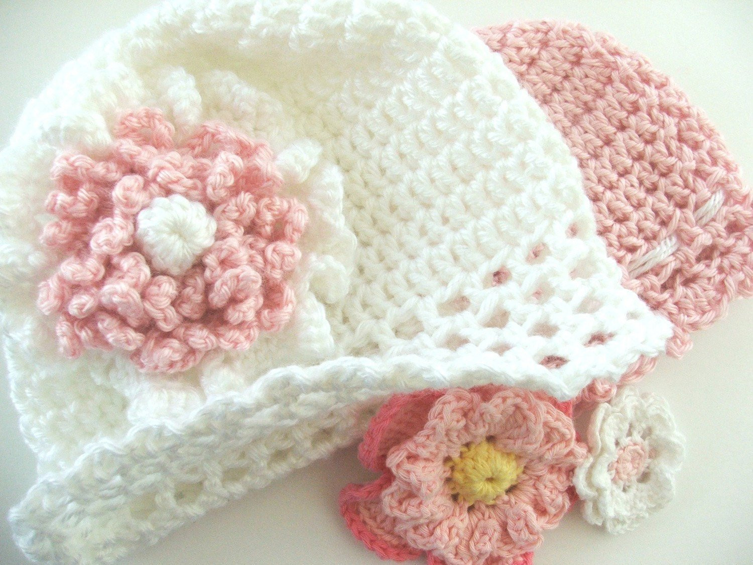 Unique Pattern Fast and Easy Crochet Pattern Baby Cap with Flowers toddler Crochet Hat Pattern with Flower Of Luxury 50 Ideas toddler Crochet Hat Pattern with Flower