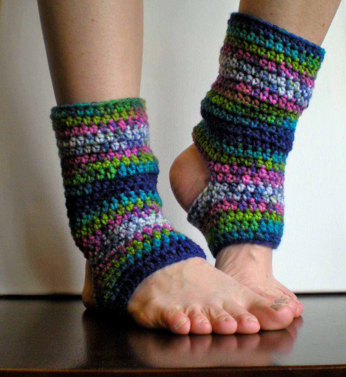 Unique Pattern Short Warmers Easy Crochet Pdf Leg Warmers Yoga Crochet Yoga socks Of Brilliant 48 Pictures Crochet Yoga socks
