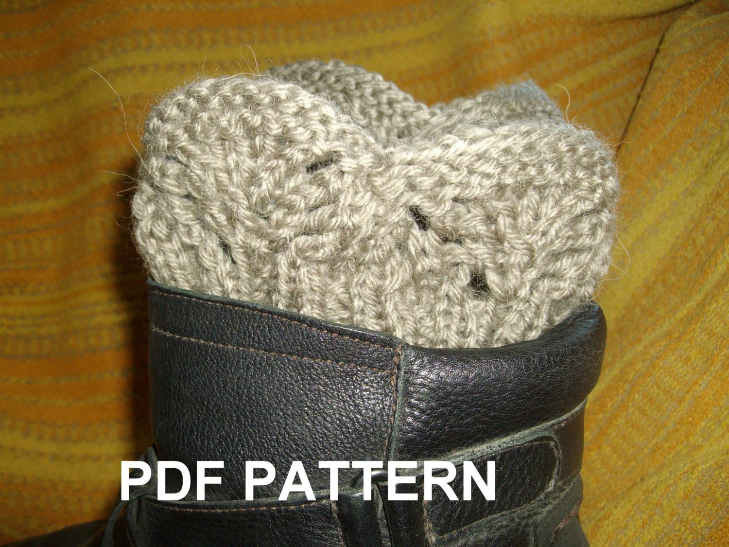 Unique Pdf Knitting Pattern Boot Cuffs Legwarmer Lace Ribbed Boot Cuff Pattern Of Contemporary 48 Pics Boot Cuff Pattern