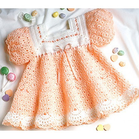 Unique Peach Sherbet Baby Dress Crochet Epattern Crochet Little Girl Dress Of Awesome 44 Images Crochet Little Girl Dress