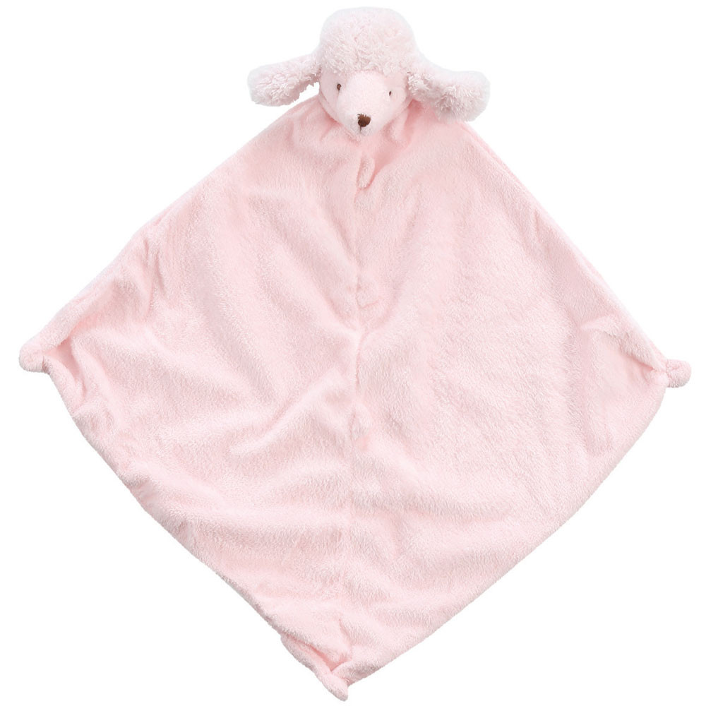Unique Pink Poodle Lovey Angel Dear Animal Blankie Angel Baby Blanket Of Perfect 46 Pictures Angel Baby Blanket