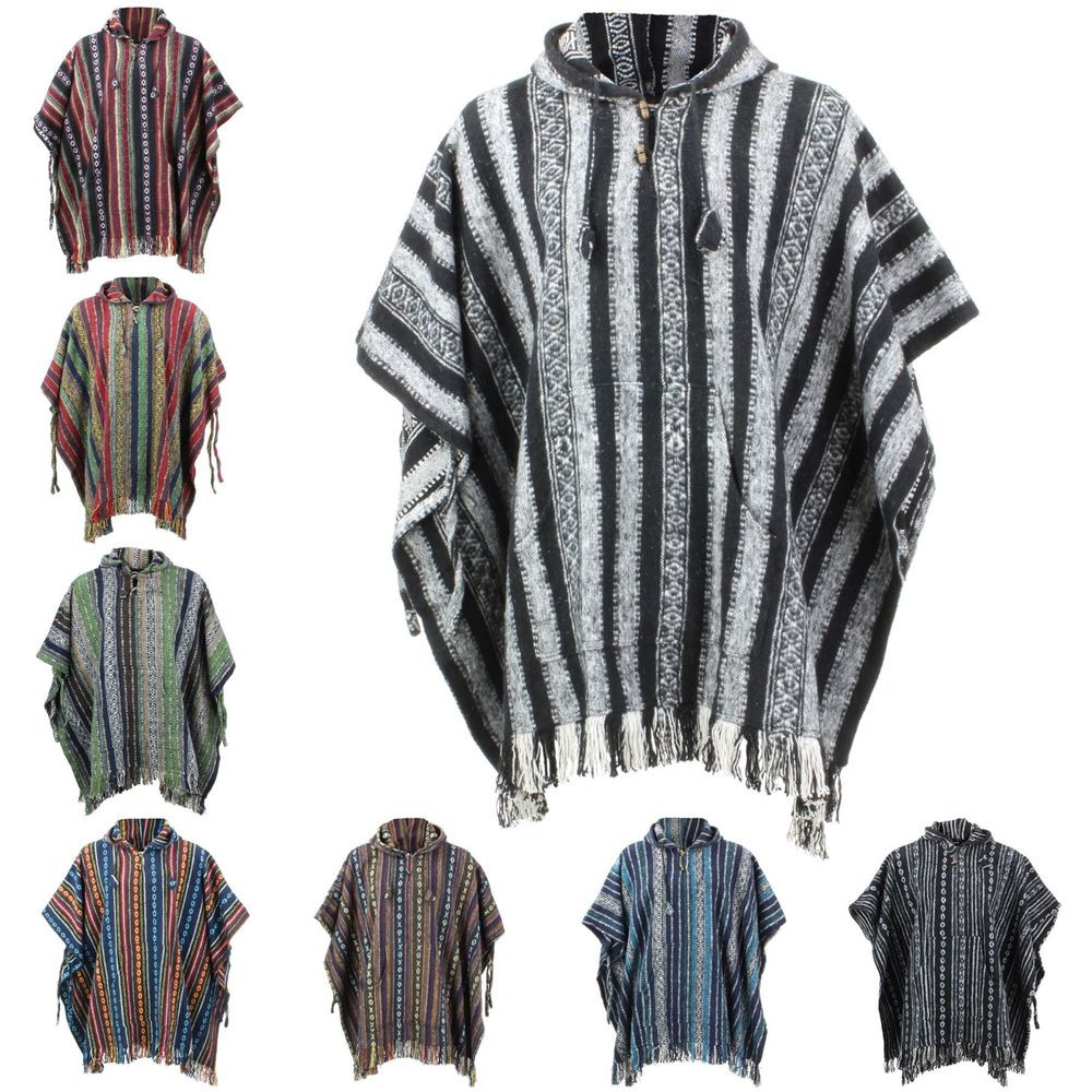 Unique Poncho Hooded Cape Cotton Loudelephant Warm Festival Woven Cool Ponchos Of Luxury 46 Pics Cool Ponchos