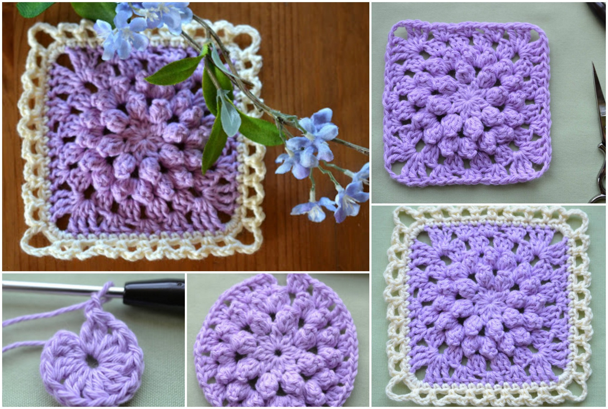 Unique Popcorn Stitch Granny Square – Crochet Ideas Popcorn Stitch Crochet Patterns Of Brilliant 41 Ideas Popcorn Stitch Crochet Patterns