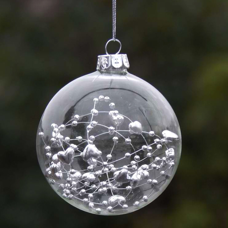 Unique Popular Clear Glass Christmas Ball Buy Cheap Clear Glass Glass Christmas Decorations Of Elegant Blown Glass Christmas ornaments Glass Christmas Decorations