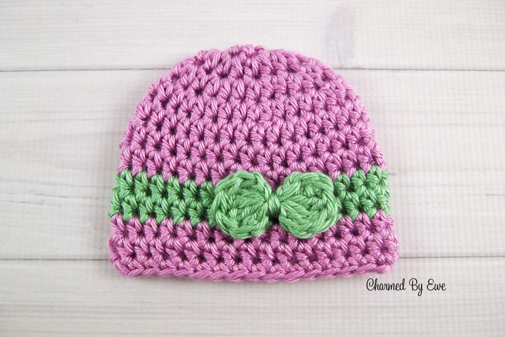Preemie Wrapped With Love Hat