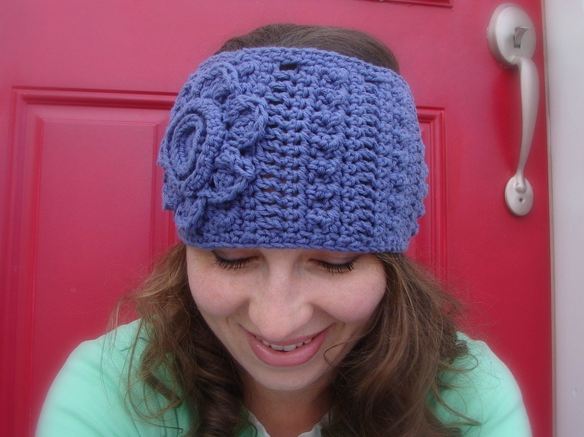 Unique Purple Crochet Head Warmer Head Band with Flower Crochet Head Warmer Of Fresh 39 Photos Crochet Head Warmer