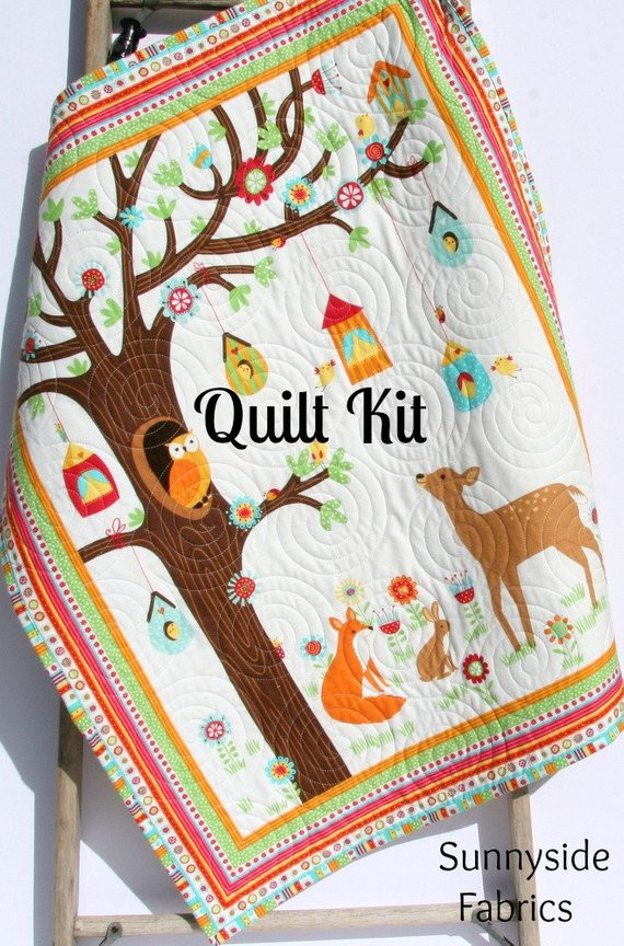 Unique Quilt Kit Flannel Baby Blanket Panel Quick Easy Woodland Baby Blanket Kits Of Delightful 48 Pictures Baby Blanket Kits