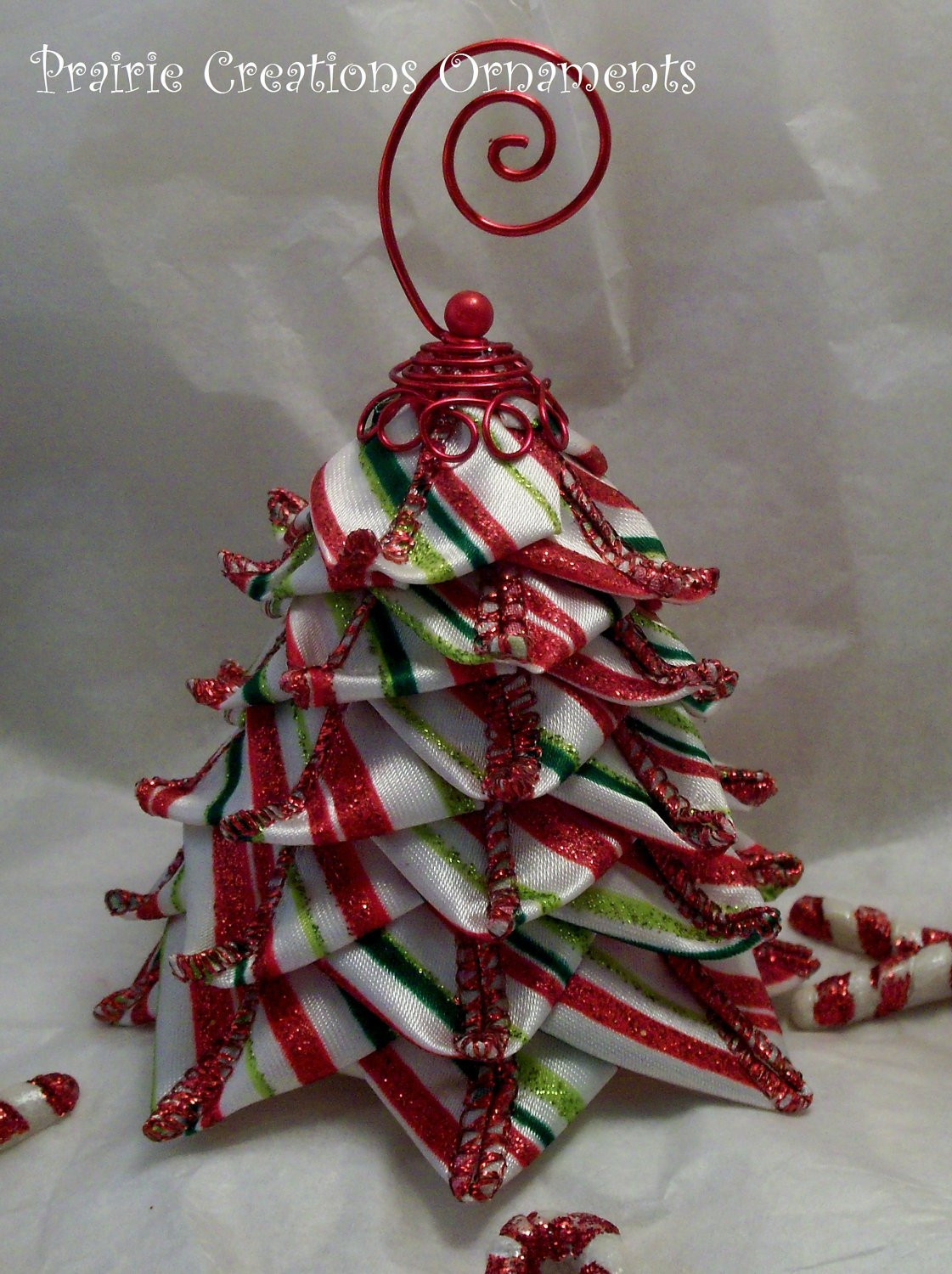Unique Quilted ornament Candy Stripe Ribbon Tree Christmas Decor ornaments On Christmas Tree Of Delightful 46 Images ornaments On Christmas Tree