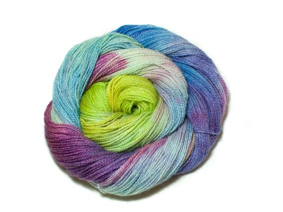 Unique Rave – Green Blue Pink and Yellow Hand Dyed Pure Yellow Variegated Yarn Of Charming 49 Ideas Yellow Variegated Yarn