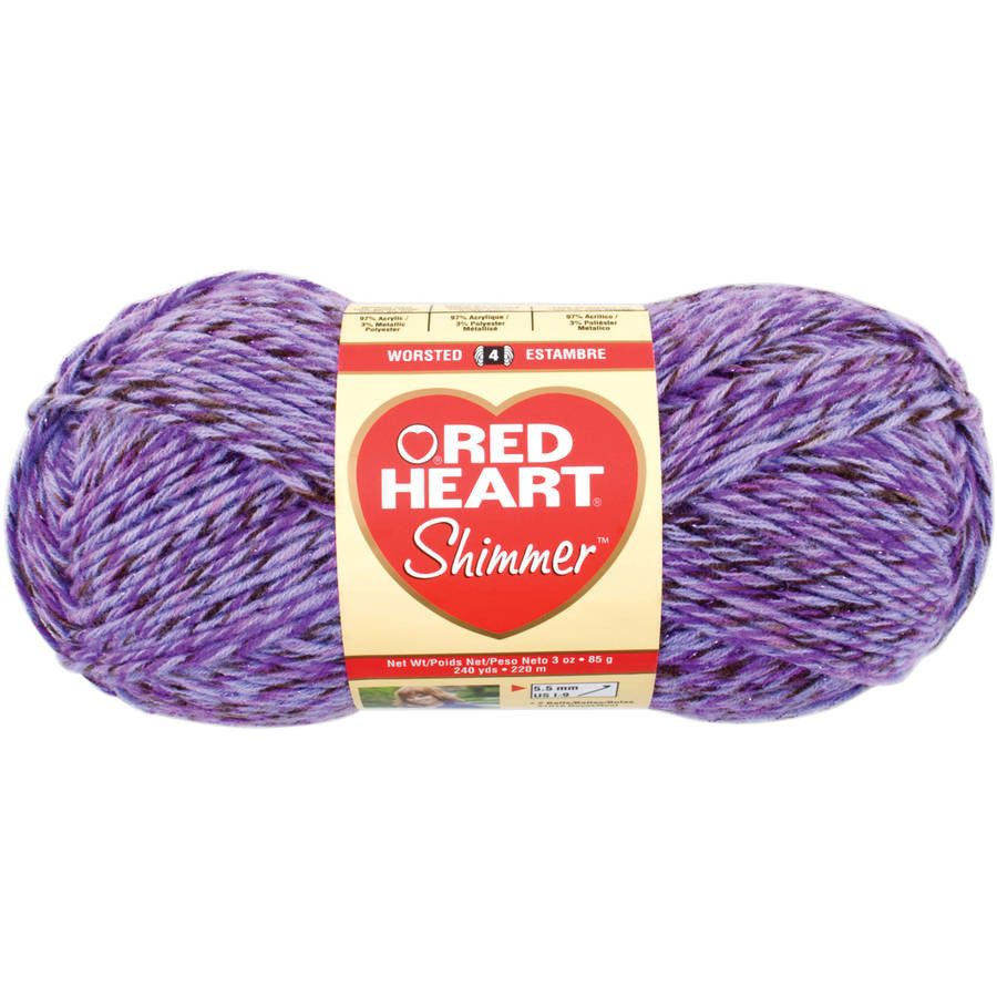 Red Heart Creme de la Creme Cotton Yarn Walmart