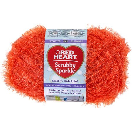 Unique Red Heart Scrubby Sparkle Yarn orange Walmart Red Heart Sparkle Yarn Of Top 49 Pics Red Heart Sparkle Yarn