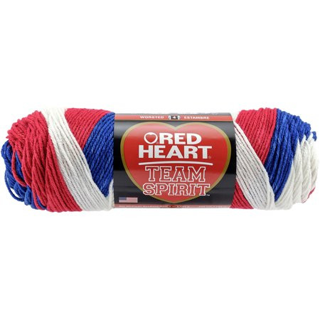 Unique Red Heart Team Spirit Yarn Red White & Blue Walmart Team Colors Yarn Of Top 44 Photos Team Colors Yarn