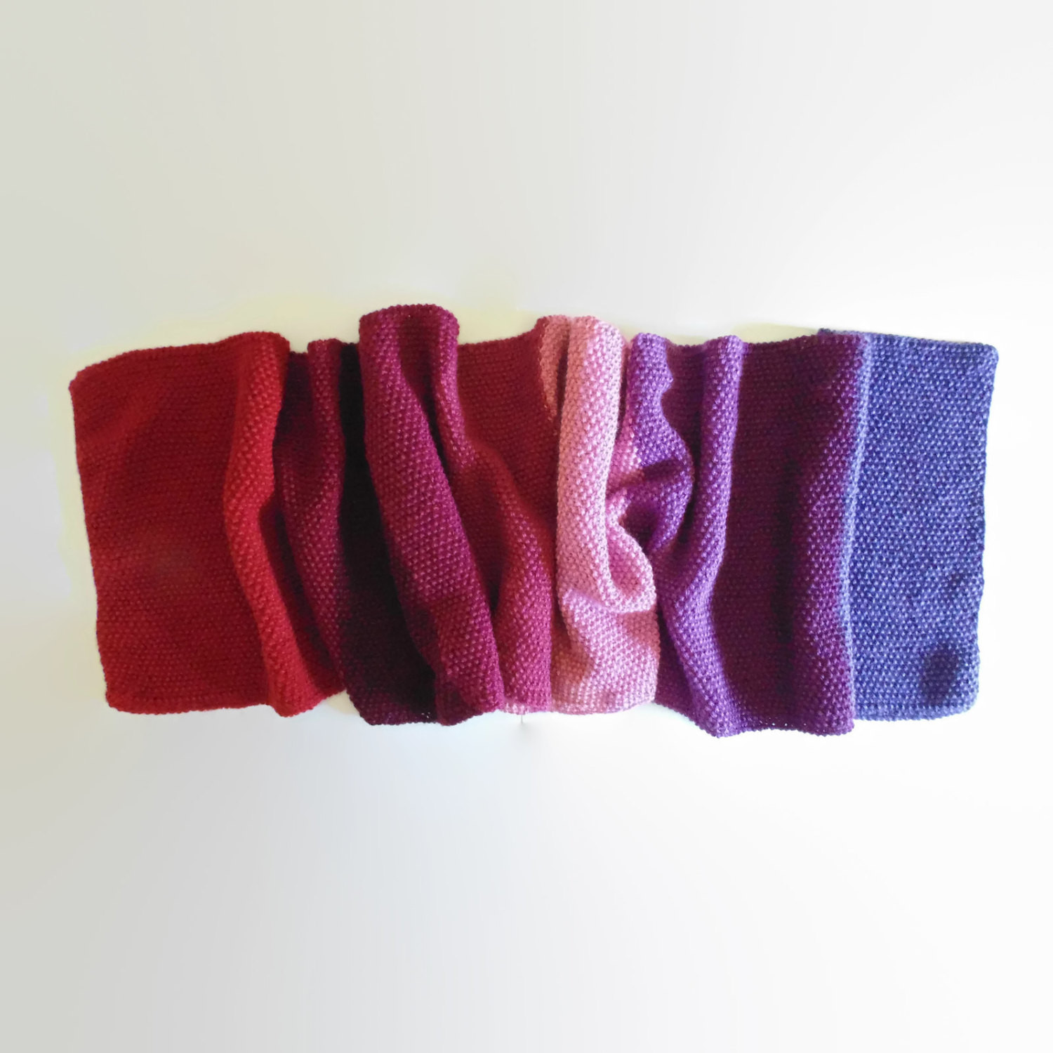 Unique Red Purple Color Block Scarf Knit Shawl Cute Hand Knit Wrap Knitted Shawl Wrap Of Superb 49 Images Knitted Shawl Wrap