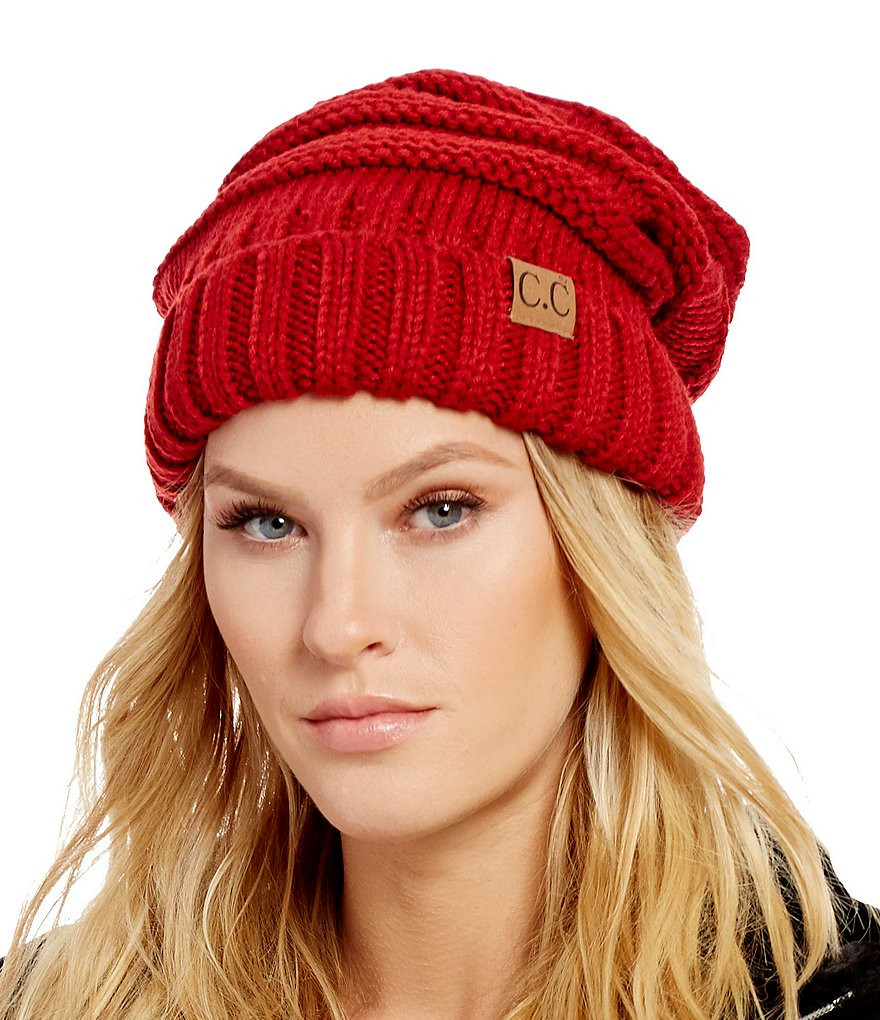Unique Red Slouchy Knit Cc Beanie Hat Red Slouchy Beanie Of New 50 Models Red Slouchy Beanie