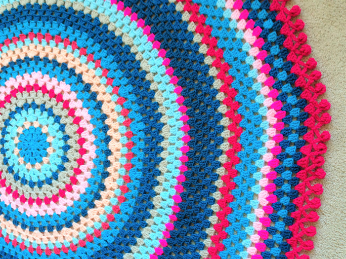 Unique Round Crochet Baby Blanket Bianca E Round Crochet Blanket Of Fresh 46 Models Round Crochet Blanket