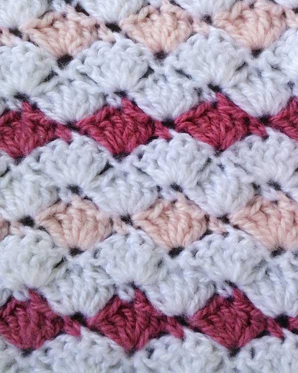 Unique Ruffled Shell Afghan & Pillow Set Crochet Pattern – Maggie Shell Afghan Pattern Of Innovative 43 Pictures Shell Afghan Pattern