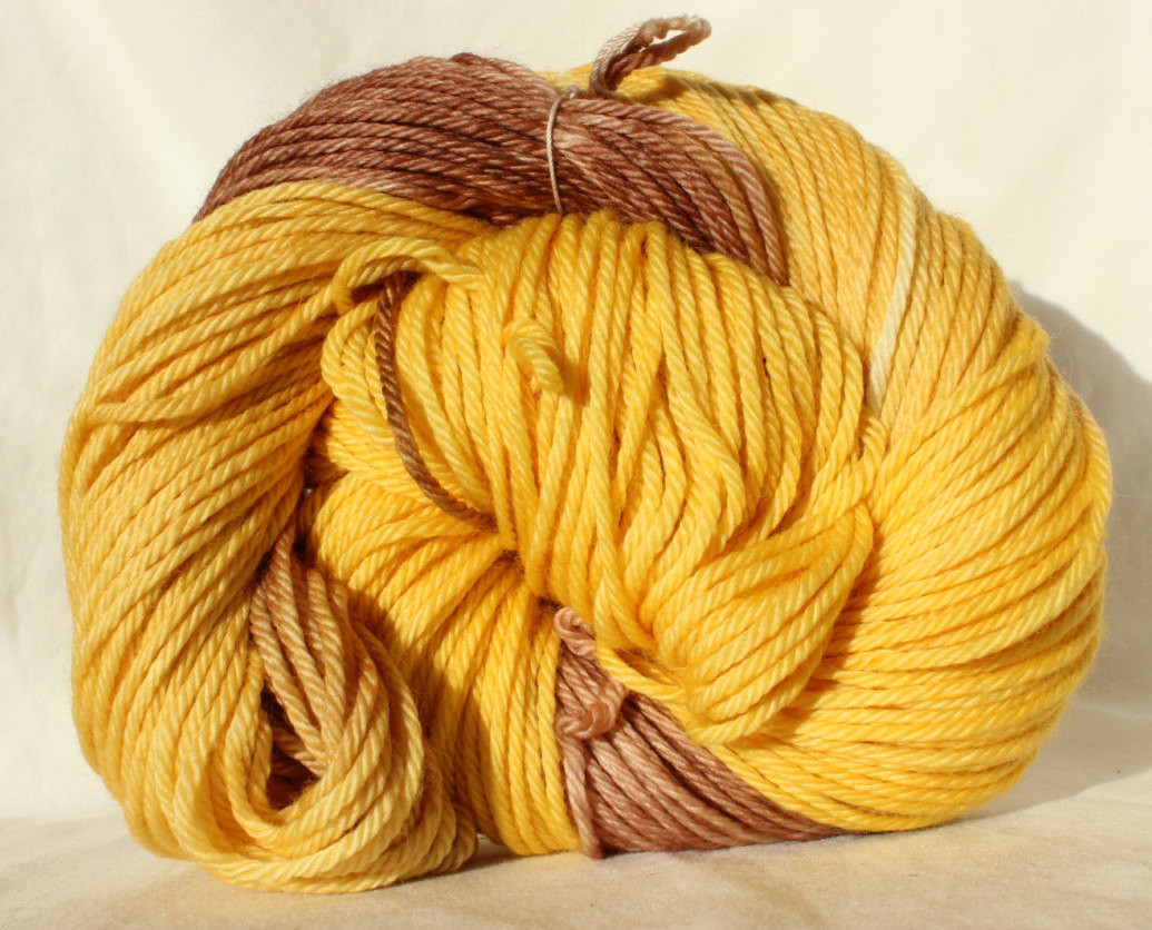 Unique Sale Hand Dyed Yarn Yellow Brown Yarn Variegated Yarn Yellow Variegated Yarn Of Charming 49 Ideas Yellow Variegated Yarn