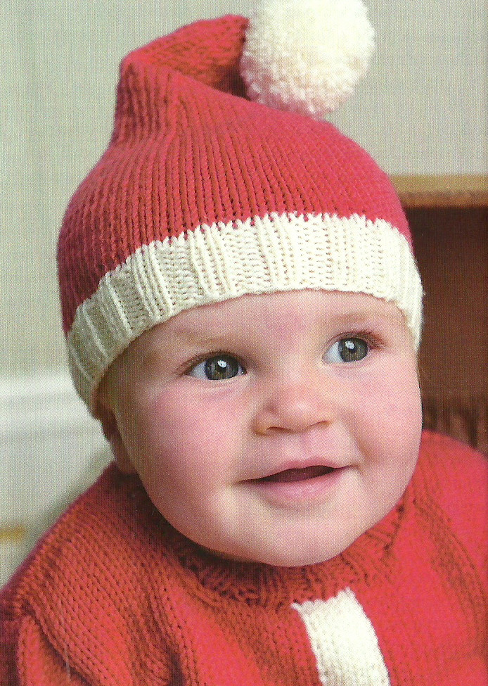 Unique Santa Baby Hat & Sweaterjane Burns Knitted Christmas Hats Of Adorable 50 Models Knitted Christmas Hats