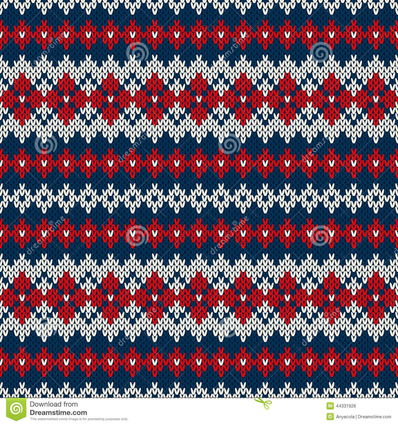Unique Seamless Knitted Pattern In Fair isle Style Stock Vector Fair isle Pattern Of Top 42 Photos Fair isle Pattern