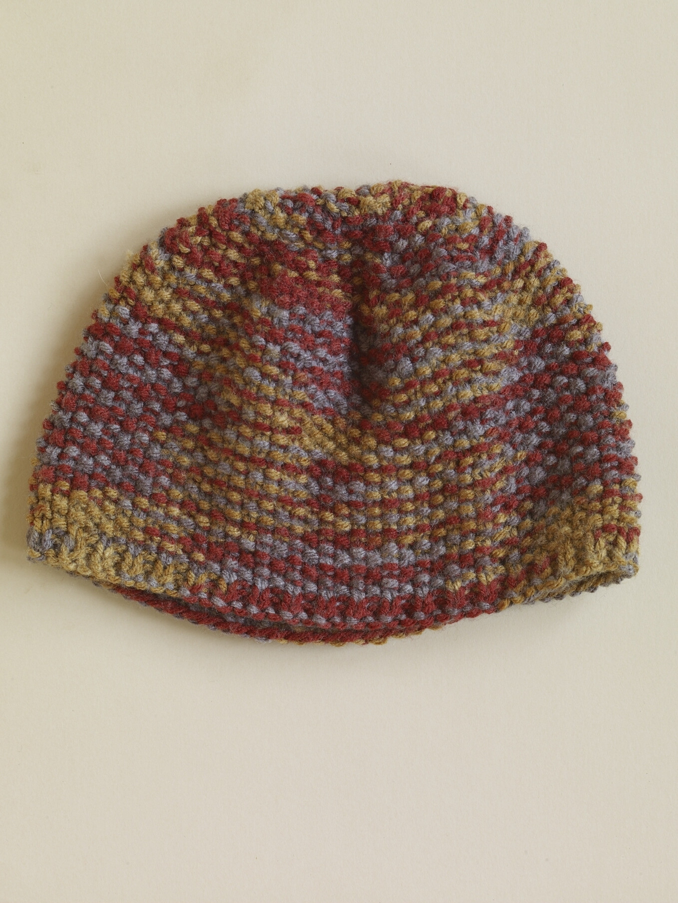 Seed Stitch Hat in Lion Brand Vanna s Choice AD
