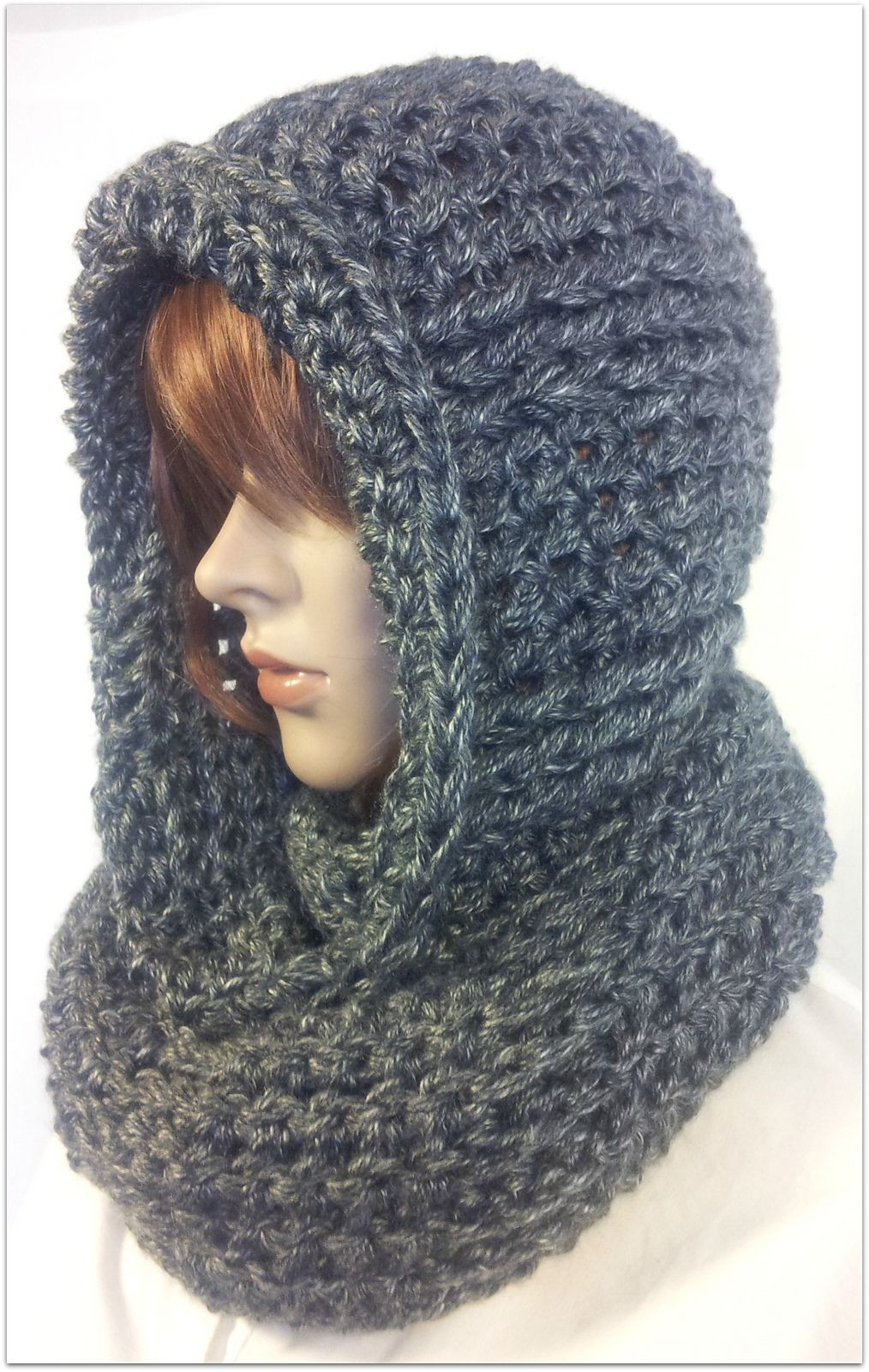 Unique Serenity Hooded Scarf Pattern by Tina Lynn Creations Crochet Hooded Scarf Of Wonderful 48 Images Crochet Hooded Scarf