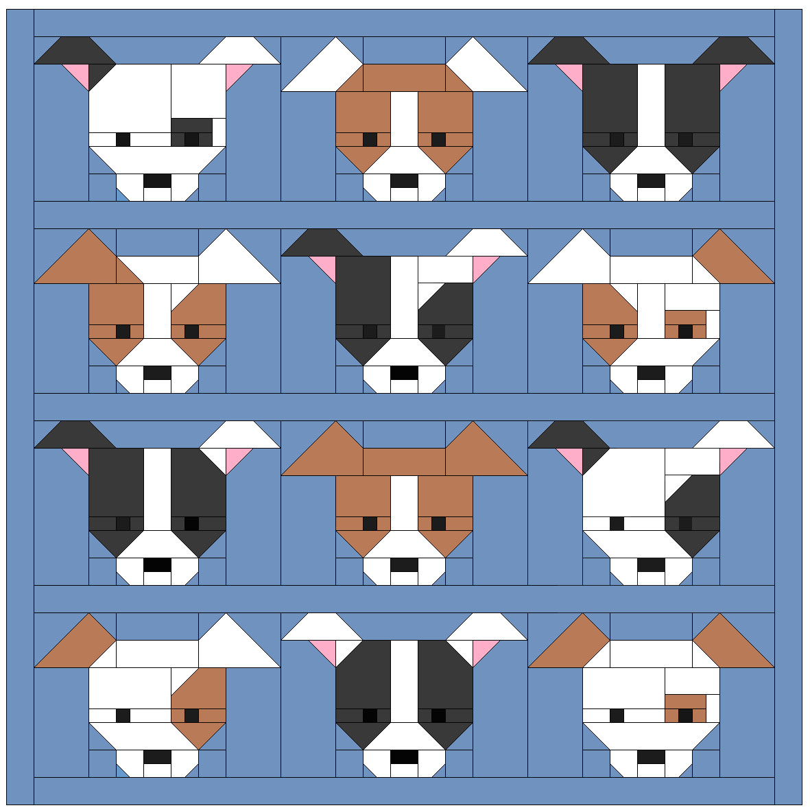 Unique Sew Fresh Quilts Dog Gone Cute Dog Pattern Of Attractive 45 Photos Dog Pattern