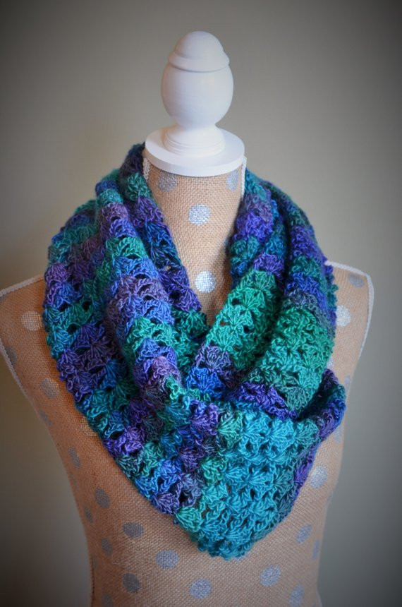 Unique Shell Lace Crochet Scarf Infinity Scarf Available Lace Infinity Scarf Of Charming 45 Ideas Lace Infinity Scarf