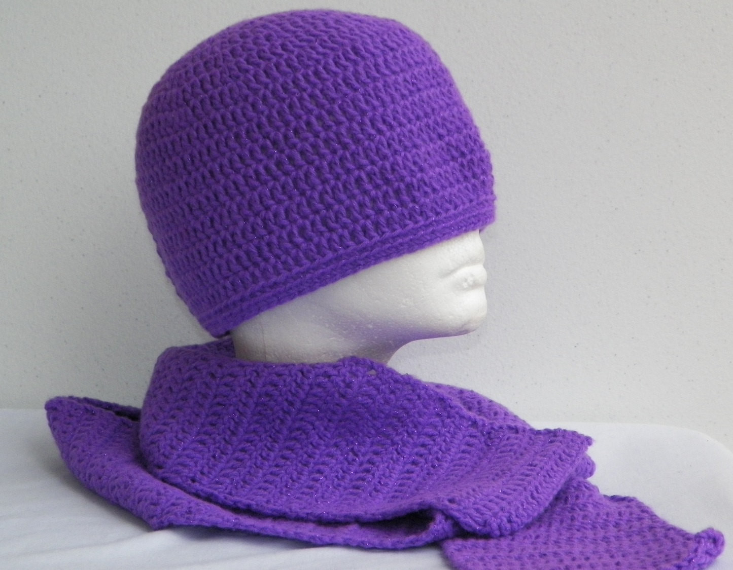 Unique Shimmering Purple Crochet Hat and Scarf Set Beanie and Crochet Hat and Scarf Of Superb 50 Pics Crochet Hat and Scarf