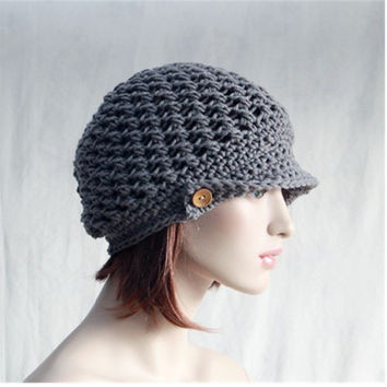Unique Shop Crochet Slouchy Hat with Brim On Wanelo Crochet Chemo Hats Of Adorable 42 Images Crochet Chemo Hats