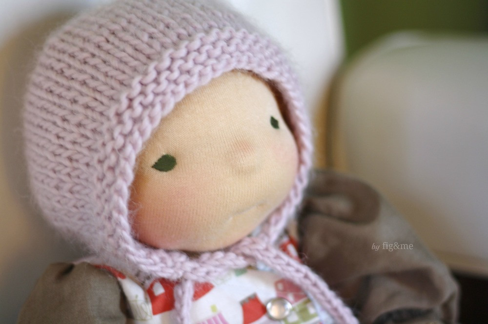 Unique Simply Baby Bonnet A Free Knitting Pattern — Fig & Me Knitted Baby Bonnet Of Top 47 Pics Knitted Baby Bonnet