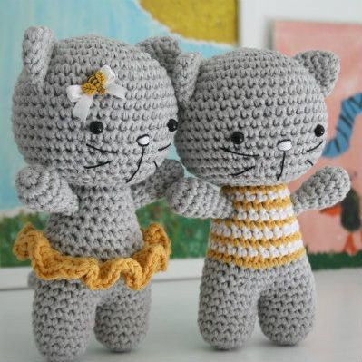 Unique Small Cat with Joined Legs – Free Amigurumi Pattern Amigurumi Cat Pattern Of Awesome 50 Pics Amigurumi Cat Pattern