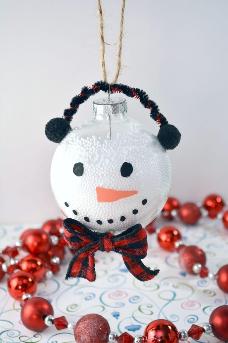 Unique Snowman Christmas ornament Using Clear Plastic Ball Snowman Christmas ornaments Of Adorable 45 Models Snowman Christmas ornaments