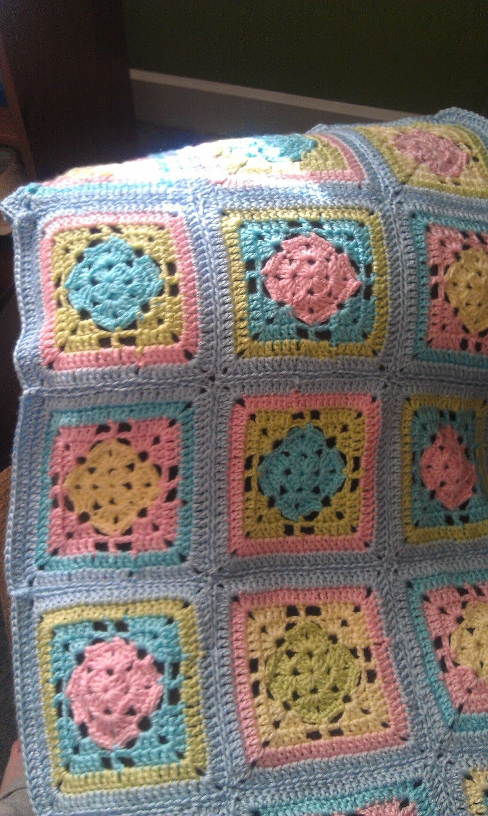 Unique Spring Fling Granny Square Blanket Crochet Granny Square Afghan Of Beautiful 46 Pictures Crochet Granny Square Afghan