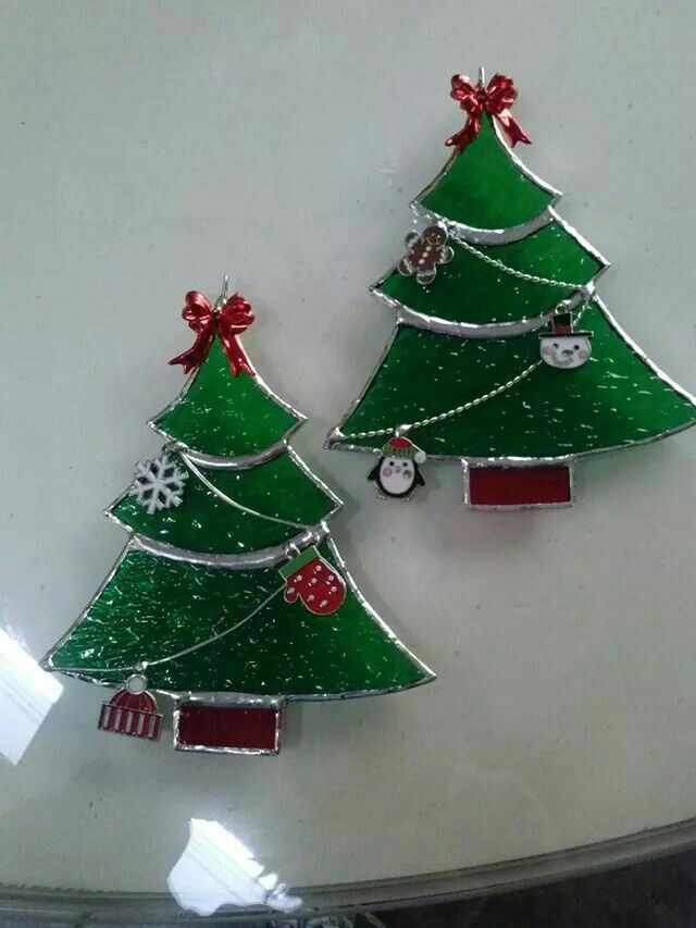 Unique Stained Glass Christmas Trees Stained Glass Glass Christmas Tree Decorations Of Great 42 Ideas Glass Christmas Tree Decorations