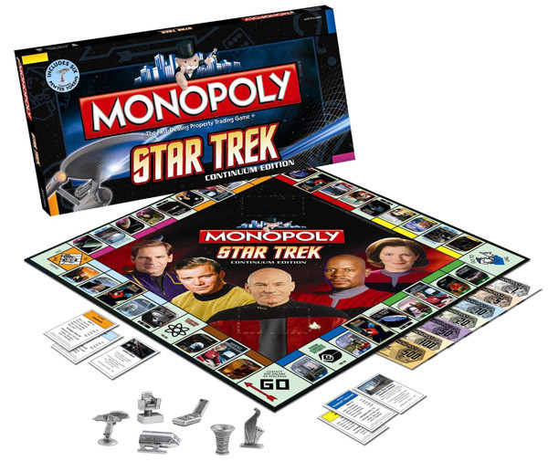 Unique Star Trek Monopoly Boldly Go and Collect $200 Technabob Cool Monopoly Games Of Charming 45 Images Cool Monopoly Games