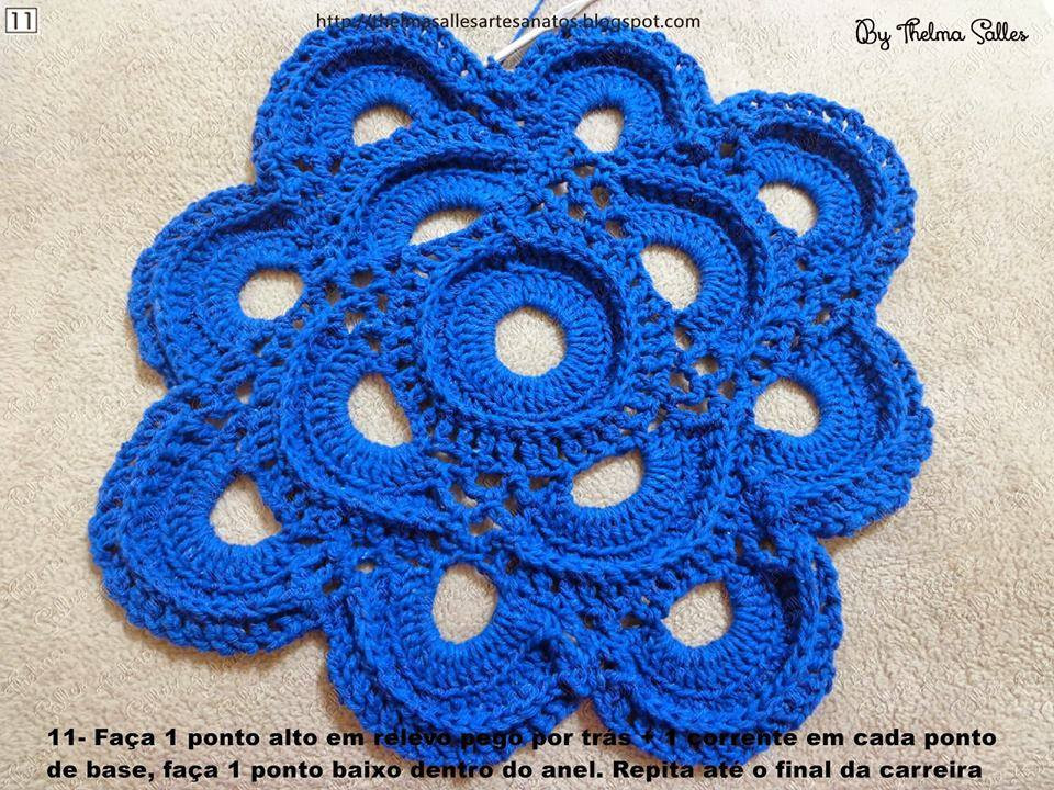 Unique Step by Step Round Doily Pattern Crochet ⋆ Crochet Kingdom Round Crochet Pattern Of Unique 50 Models Round Crochet Pattern