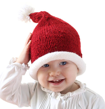 Unique Stockinette Baby Santa Hat Pattern Santa Hat Pattern Of Awesome Items Similar to Knitting Pattern Santa Christmas Hat or Santa Hat Pattern