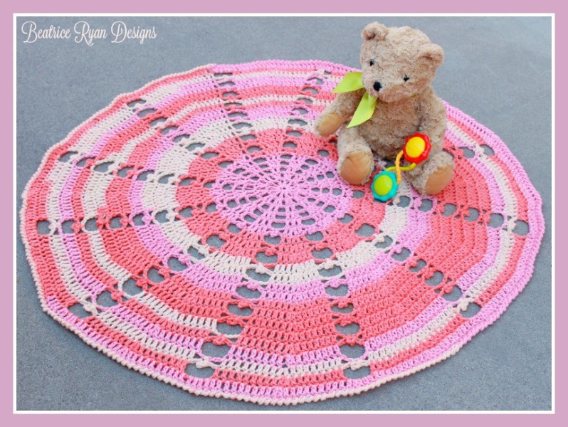 Sugar Wheel Baby Blanket… Free Crochet Pattern