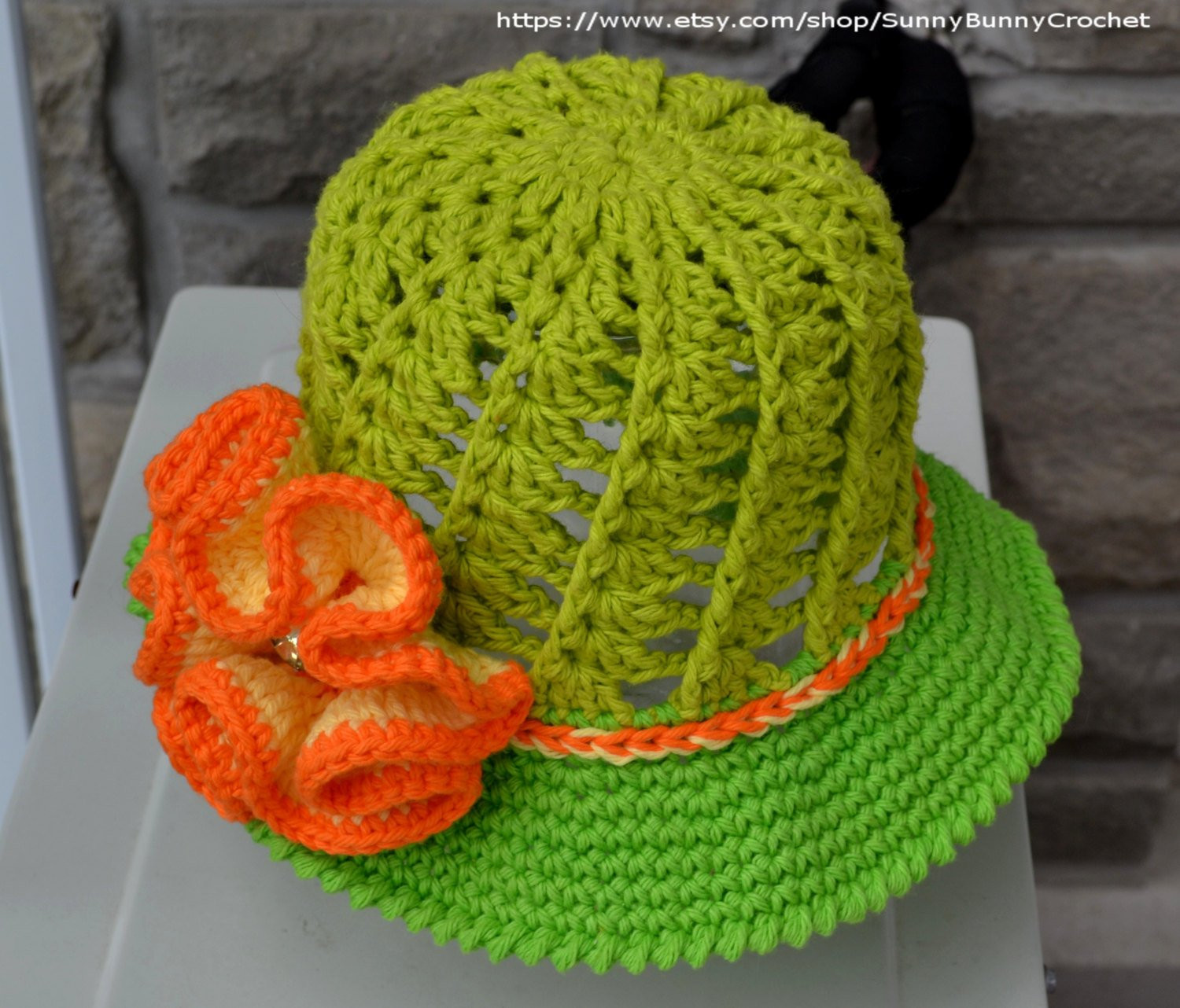 Unique Sun Hat Pattern Crochet Hat Pattern Child Hat Crochet Crochet Summer Hat Of Awesome 45 Images Crochet Summer Hat
