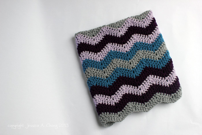 Sunny Stitching Free Crochet Pattern for a Chevron Baby