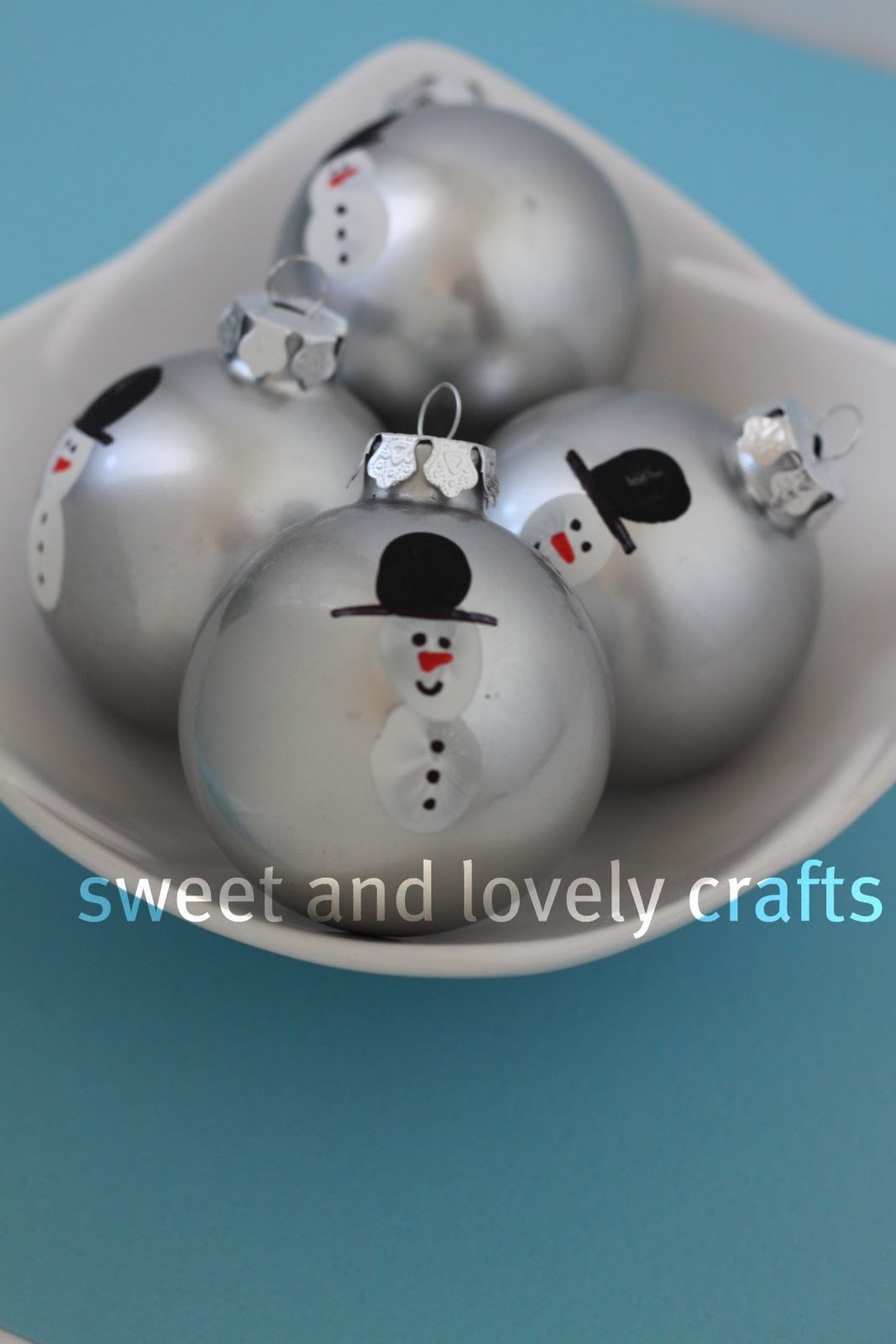 Unique Sweet and Lovely Crafts Snowmen Christmas ornaments Snowman Christmas ornaments Of Adorable 45 Models Snowman Christmas ornaments
